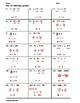 Solving One-Step Equations Practice Worksheet