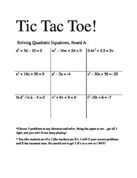 Pictures Quadratic Formula Worksheet - Motorobilia
