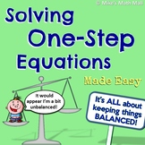 One-Step Equations Made Easy (Mini Bundle)