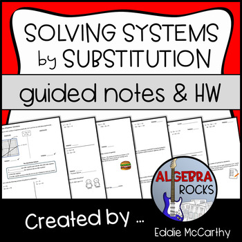 Solving Systems of Equations by Substitution (Guided Notes