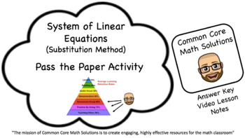Solving Systems with Linear/Quad Functions (Cooperative Le