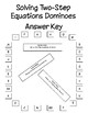 Solving Two-Step Equations Dominoes - PP