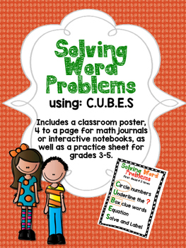 Solving Word Problems using CUBES