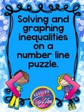 Solving and Graphing Inequalities on a Number Line