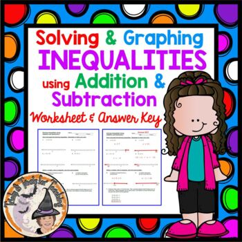 Solving and Graphing Inequalities using Addition and Subtr