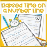 Solving for elapsed time on a number line