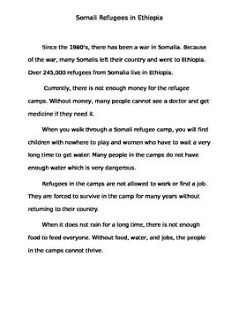 Somali Refugees In Ethiopia