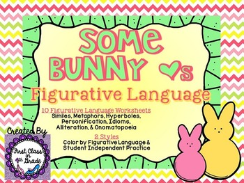 Some Bunny Loves Figurative Language (Easter Literary Devi