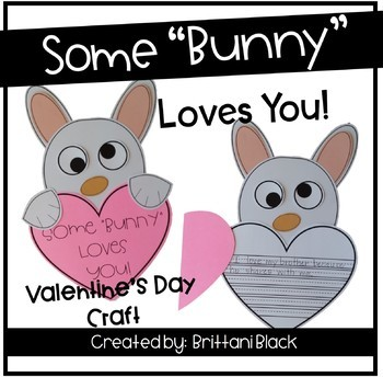 "Some ""Bunny"" Loves You~ Craft and Writing"