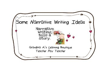 Some Narrative Writing Ideas For Beginners