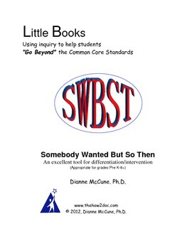 Summary/Retell-SWBST- Complete Booklet - Literacy Response