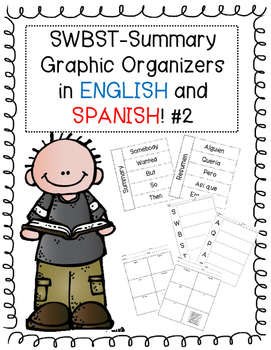Somebody Wanted But So Then Graphic Organizers ENGLISH and