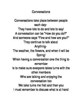 Sometimes- Conversations Poem
