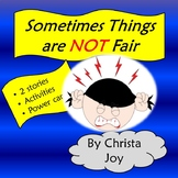 Sometimes Things are Not Fair Social Story and Activities