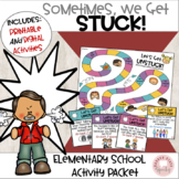 Social Language and Behavior:  Sometimes we get stuck!  Ac