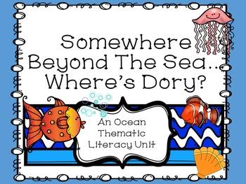 Somewhere Beyond The Sea Where's Dory? Ocean Themed Litera