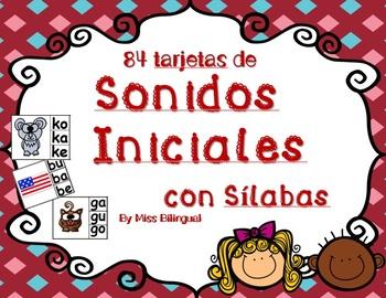 Son iniciales con Silabas