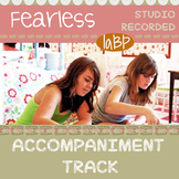 """Song Accompaniment track and chord chart - """"Fearless"""""""
