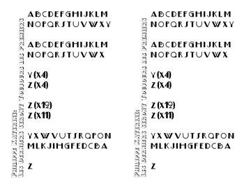 Song: Alphabet