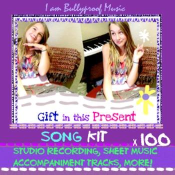 Song Kit: Gift recording, sheet music, accompaniment track