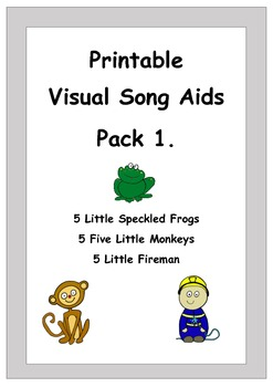 Song Printable Visual Aids Pack 1.