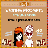 Pop Songs - Music Appreciation Writing Prompts