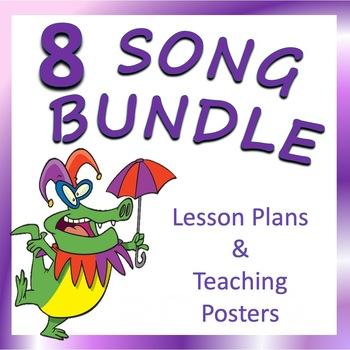 Song Teaching Posters BUNDLE