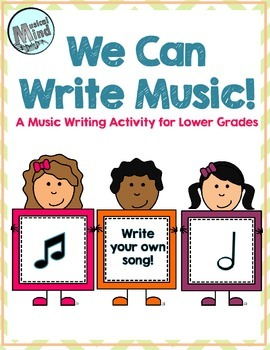 Song Writing Activity for Elementary Music Class