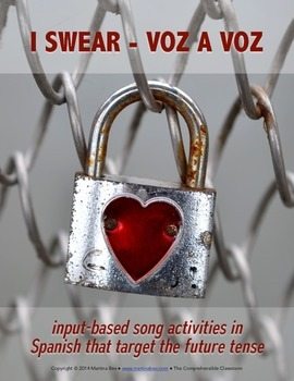 Song activity: I Swear by Voz a Voz