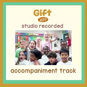 Instrumental Accompaniment track: Gift