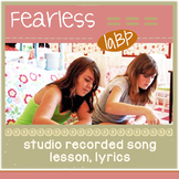 Song about being brave - inspirational pop song