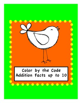 Songbird-Color by the Code-Addition up to 10