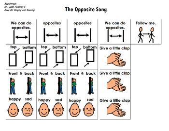 "Songboard - Dr. Jean's ""The Opposite Song"""