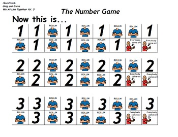 "Songboard - Greg and Steve's ""The Number Game"""