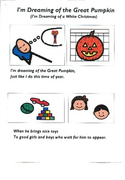 "Songboard - ""I'm Dreaming of the Great Pumpkin"""