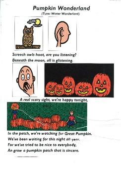 """Songboard - """"Pumpkin Wonderland"""""""