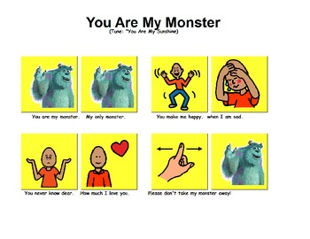 "Songboard - ""You Are My Monster"""