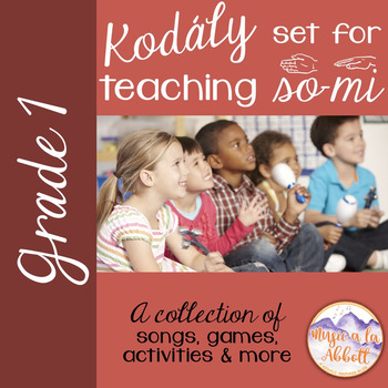 Songs, PDFs and Activities for Teaching so-mi
