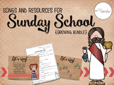 Songs and Resources for Sunday School {Growing Bundle}