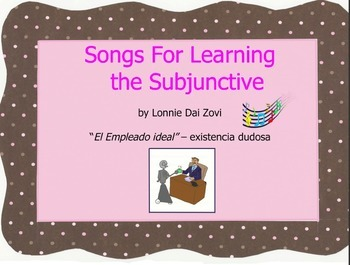 """Songs for Learning the Subjunctive – """"Un Empleado ideal"""" ("""