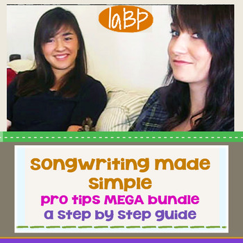 Songwriting Bundle: composing great songs and lyrics