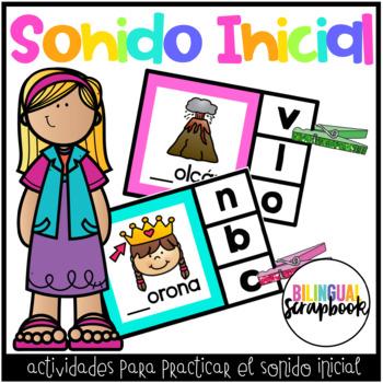 Sonido Inicial (Beginning Sound Clip it Center)