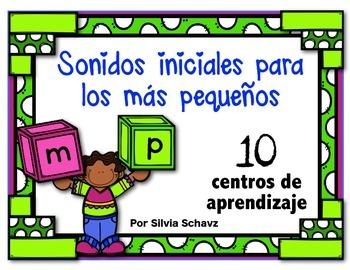 Sonidos iniciales para los más pequeños: 10 centros de apr