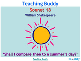 Sonnet 18 'Shall I compare thee to a summer's day?' Shakes