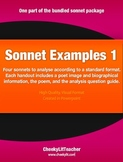 Sonnet Examples 1