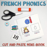 French phonics – Les Sons Cut and Paste Mini-Book | French Sounds