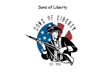 Sons of Liberty, Boston Massacre, Boycott Simple Story