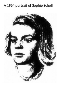 Sophie Scholl Picture and Learning Pack