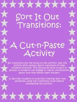 Sort It Out - A Cut & Paste Activity