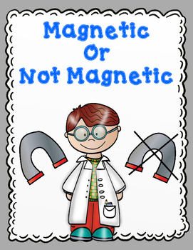 Sort It Out!  Magnetic and Not Magnetic Cut and Paste Activities
